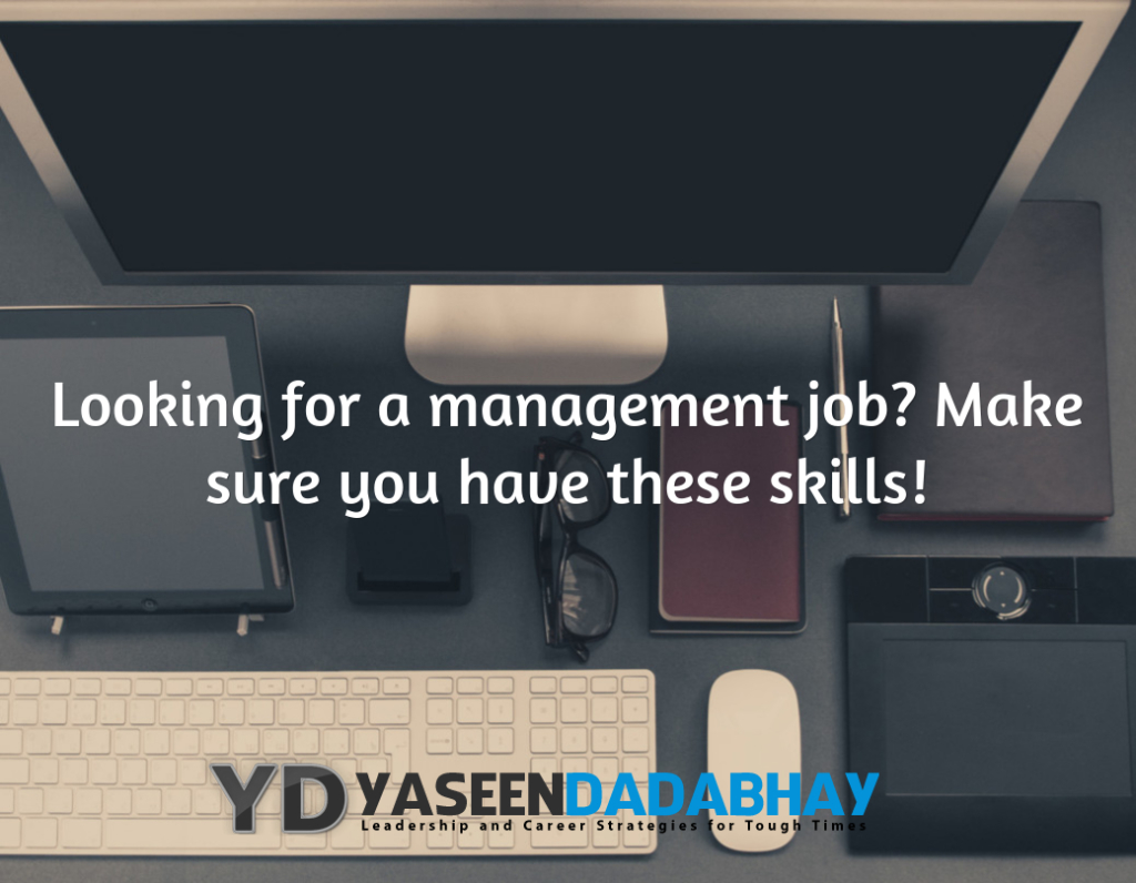 Looking for a management job? These are the skills hiring managers look for