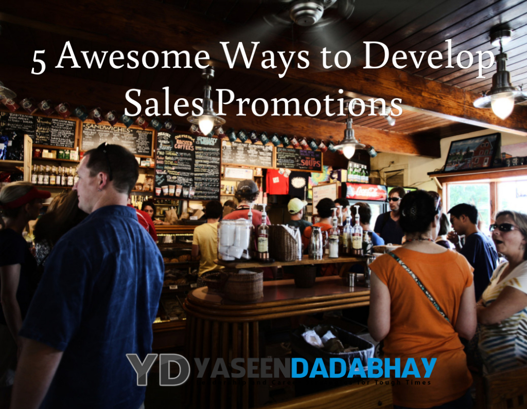 5 Awesome Ways to Develop Sales Promotions