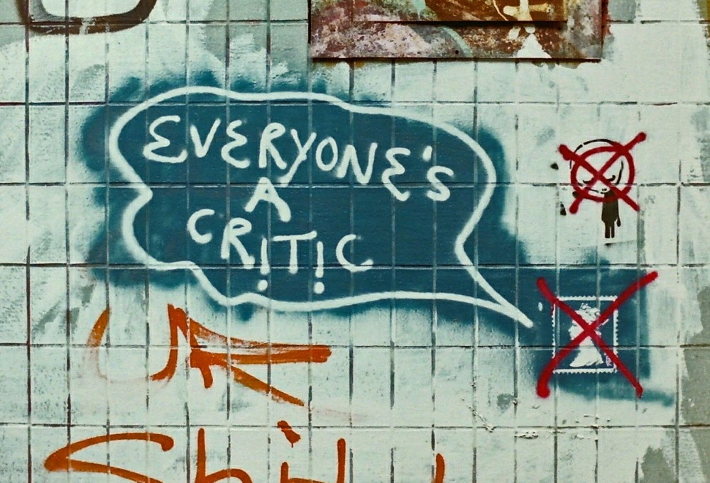 The Secret to Handling Your Critics