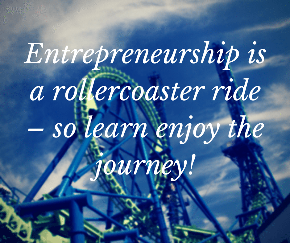 Enjoy The Entrepreneurial Journey