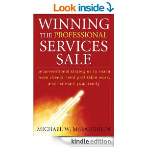 Yaseen Dadabhay reviews Winning the Professional Services Sale