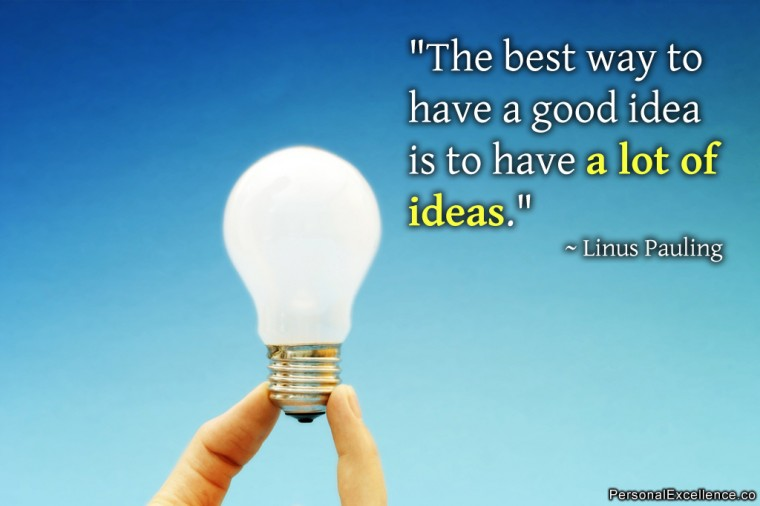 The Value of Ideas