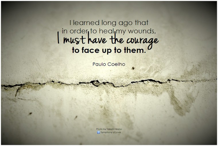 The Courage To Live Consciously.