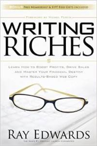 Yaseen Dadabhay reviews Ray Edwards Book Writing Riches