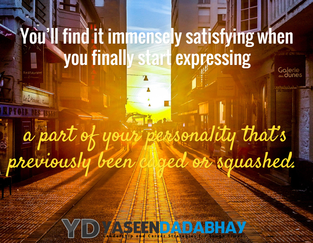 Start Expressing Your Personality