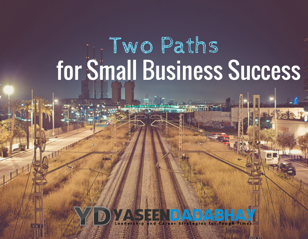 Two Paths for Small Business Success