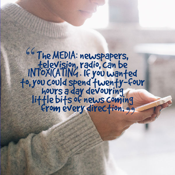 Simplify your life: Restrict the flow of media