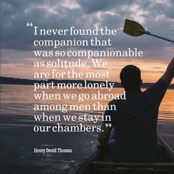 The Lost Art of Solitude
