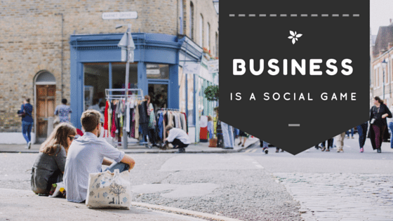 Business is a Social Game