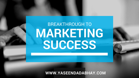 Break Through to Marketing Success