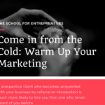 warm up your marketing